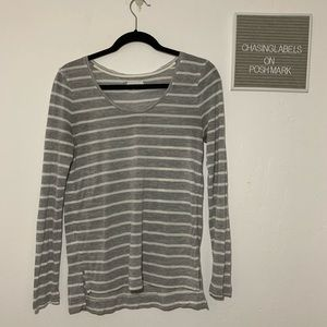 Lou & Grey | striped long sleeve tee